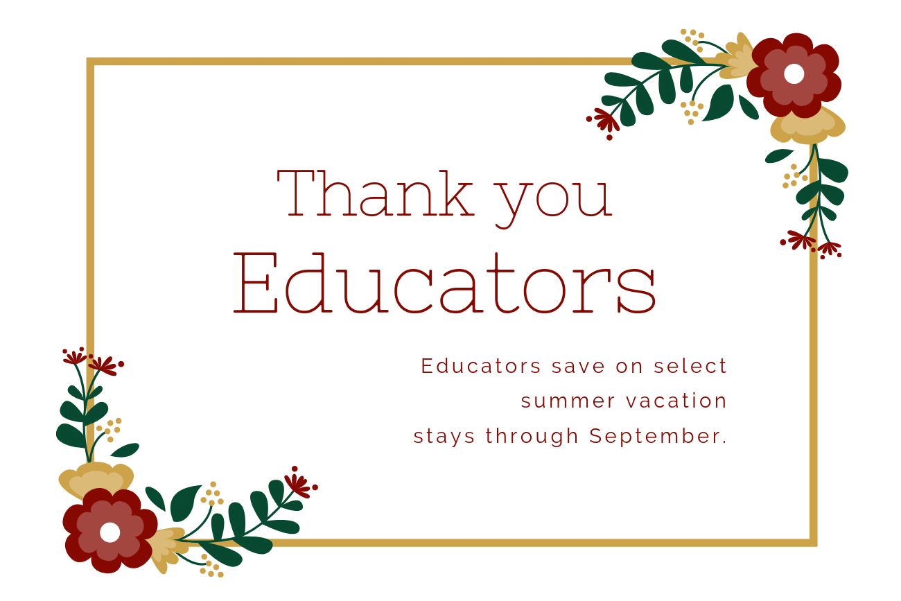 Thank You Educators