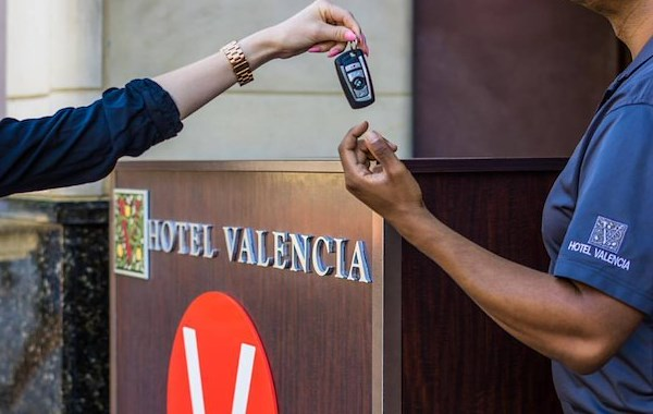 Shop till you drop...Your bags off Package at Hotel Valencia