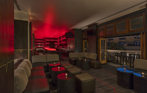 The Vbar at our Santana Row hotel