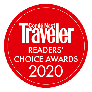 Conde Nast Traveler Reader's Award 2020