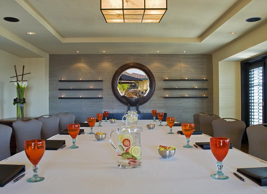 Silicon Valley Meeting Space executive boardroom set up
